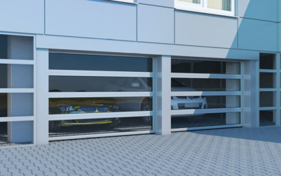 Промышленные секционные ворота с торсионным механизмом DoorHan ISD02